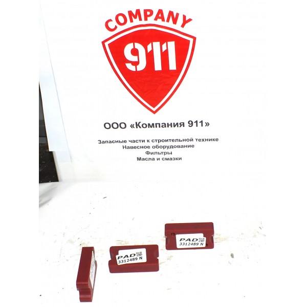 331-2489 Пластина (накладка) аутригера, подушка износа CAT (Caterpillar)