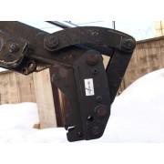 Быстросъемный механизм (быстросъём, БСМ) Quick Coupler (Квик-каплер) на Hidromek 102B