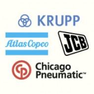 KRUPP // ATLAS COPCO // JCB // CHICAGO PNEUMATIC