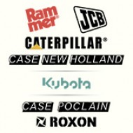 RAMMER // JСВ // CATERPILLAR // CASE-NEWHOLLAND // KUBOTA // CASE POCLAIN // ROXON