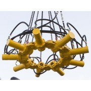 Сваерезка Delta SV 800R для срубки свай круглого сечения